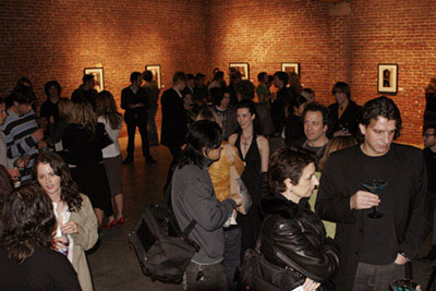 """Cyril Helnwein's artshow """"The Ethereal"""", March 2005"""