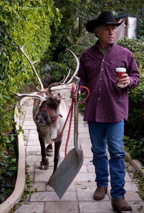 Reindeer Cowboy Latte