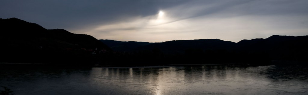 Sunset on the Blue Danube