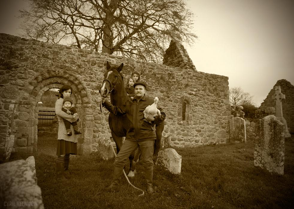 Self Portrait as Irish Travellers II (2013)