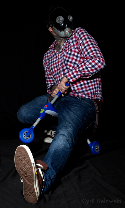 Justin Russell like to Trike